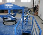 Maszyna do produkcji kręgów betonowych
