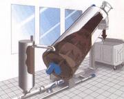 Odwadniacz ślimakowy zagęszczacz odpadu