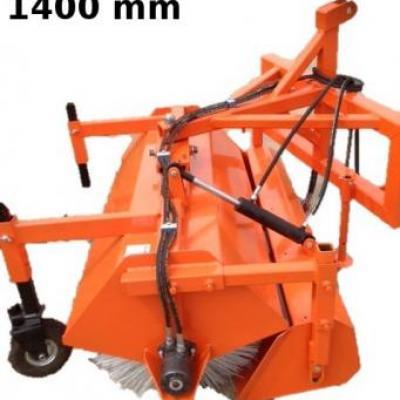 Zamiatarka ciągnikowa z koszem ZMT-140H