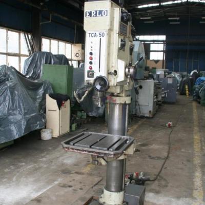 Wiertarka ERLO TCA 50 stan techniczny maszyna podł