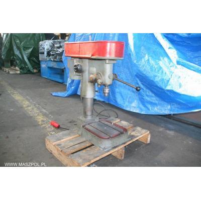 Wiertarka stołowa WS 15 maszyna podłączona gotowa