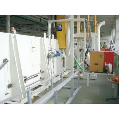 Linia produkcyjna - kompozyty sanitarne (podpaski