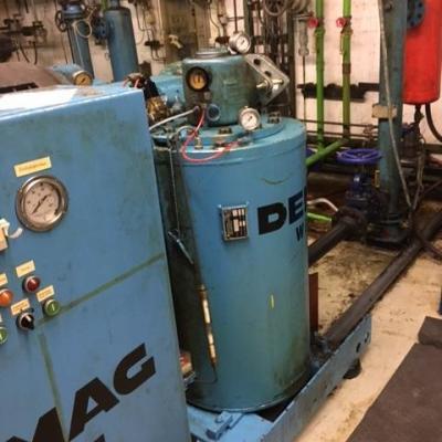 Kompresor Demag Wittig RO-170 A-1