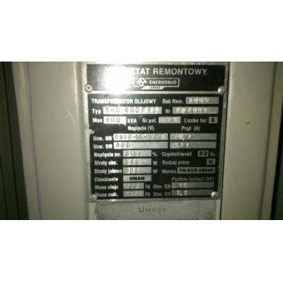 Transformatory 400KVA