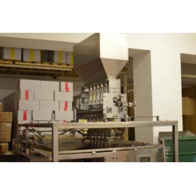Maszyna do pakowania sechetek 6 liniowa spozywcze