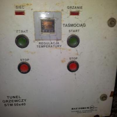 Tunel grzewczy STM 50x40 + pakowarka BAT FORUM