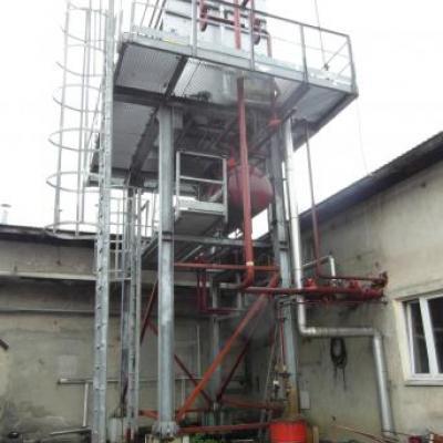 Instalacja chłodnicza dla maszynowni chłodniczej