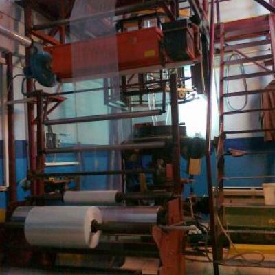wytłaczarka , linia do produkcji folii LDPE, HDPE