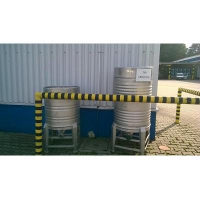 Zbiorniki aseptyczne ciśnieniowe poj. 400 i 250 l.