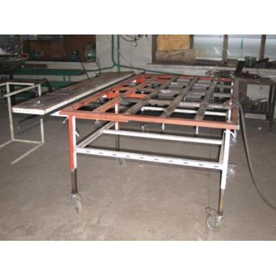 Stół spawalniczy kratownicowy 2,1 x 1,25 m