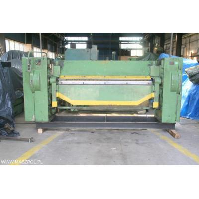 Zaginarka mechaniczna KM 4 x 2000 maszyna podlączo
