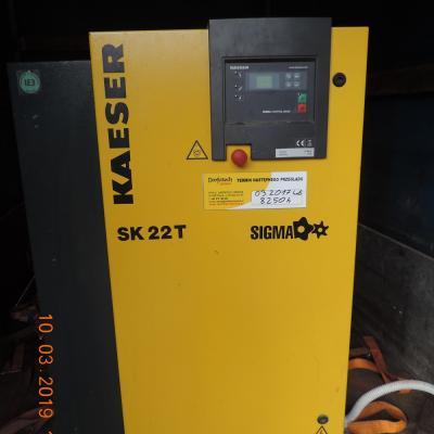 Sprężarka śrubowa KAESER SK22T z osuszaczem 2012r