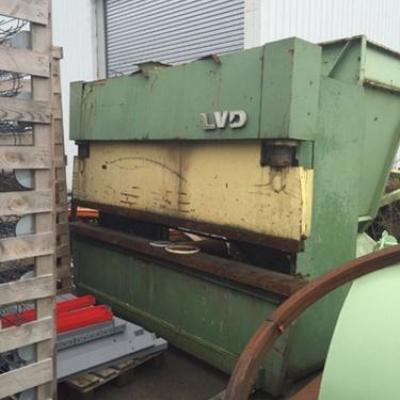 Krawędziarka prasa krawędziowa LVD PP 70 T/3100 mm