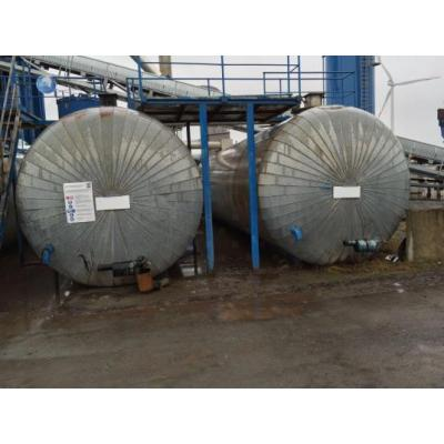 Horizontal Bitumen Storage Tanks
