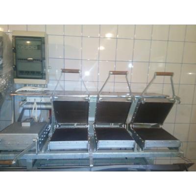 Maszynki do wypieku wafli tortowych-piece