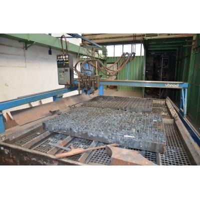 burning / cutting machine / machine VANAD, oxygen