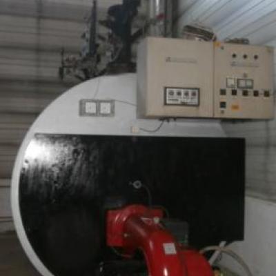 Wysokociśnieniowy kocioł typ U-HH53OM 2x10 bar