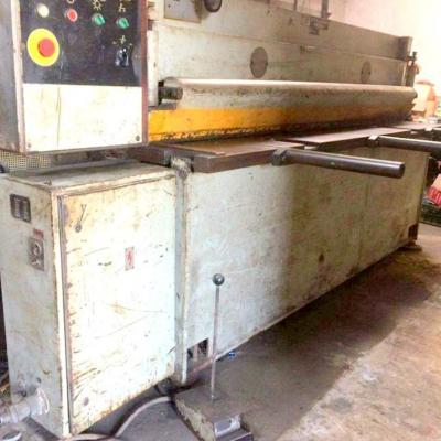 STROJARNE PIESOK NTC 2500/4 guillotine shears