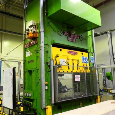 WILKINS & MITCHELL double column mechanical press