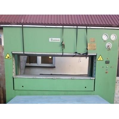 Prasa hydrauliczna DHXA-600 SOMA o nacisku 600 Ton