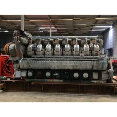 Waukesha Gas Engine Model16 VAT27GL