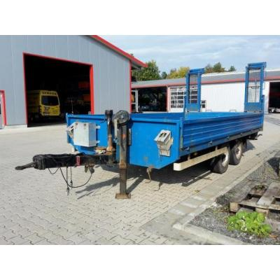 Platal Fahrzeugbau FBM Tandem Tieflader Typ TR 69