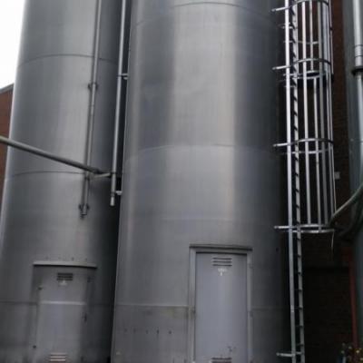 Silosy aluminiowe 100 m3