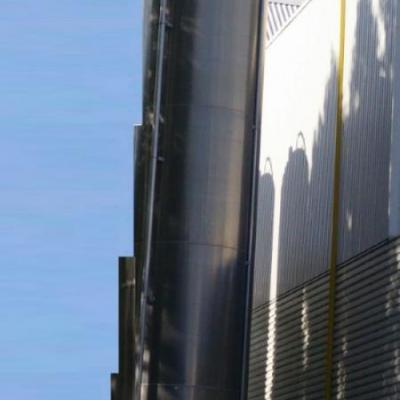 Silosy aluminiowy do granulatu 47m3