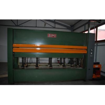Prasa hydrauliczna SIMI, 2 wsady 3500 x 1300 mm