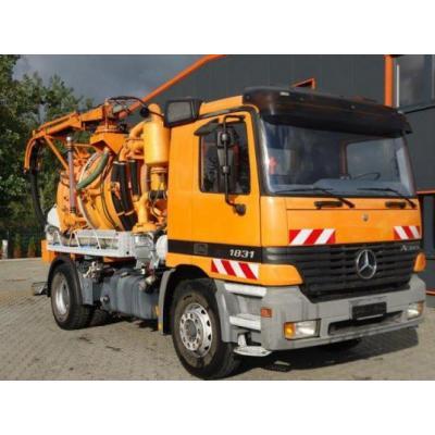 Mercedes-Benz ACTROS 1831 4x2 EURO3 Saug und Druck