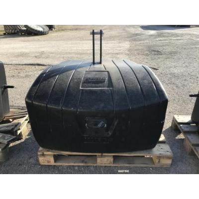 Masses CASE IH  ACIER/BETON 650-900 et 1100 KG