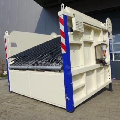 BHS SBR 1  semimobiles Baustoff-Recyclingsieb Grob