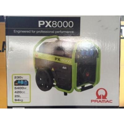 Pramac  PX8000 6 kVA NEW Mobile generator
