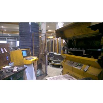 Automat zbrojarski do obróbki prętów ze zwoju