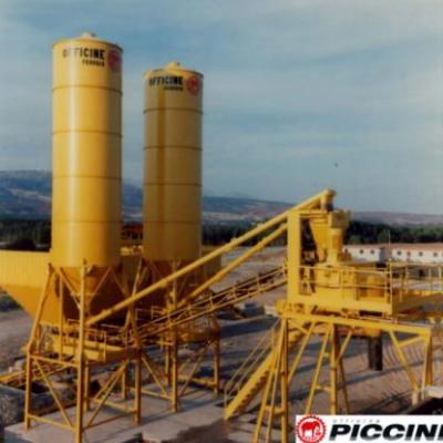 Węzeł betoniarski MRF 1500 firmy Officine Piccini
