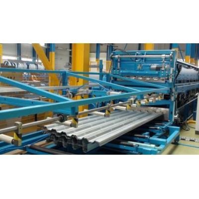 Linie technologiczndo produkcji paneli trapezowych