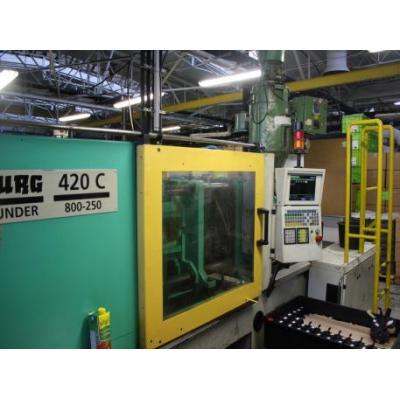 Arburg 420 C 800-250 - Rocznik 2000
