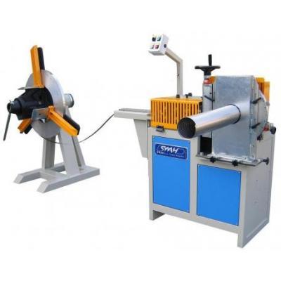 Maszyna do produkcji wkładów kominowych firmy SWAH