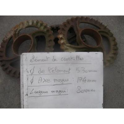 DISQUE DE CROSKILL FERGU DIAMETRE 530MM