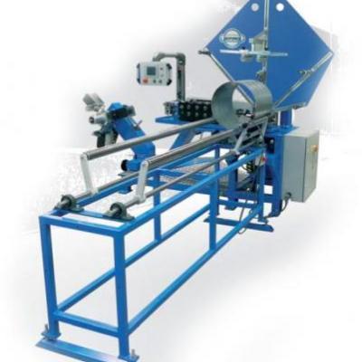 Maszyna firmy SPIRO Alpha 6 - produkcja rur spiro