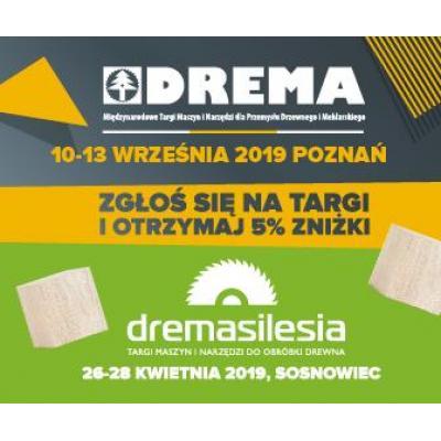 Zyskaj rabat na targi DremaSilesia i DREMA 2019!