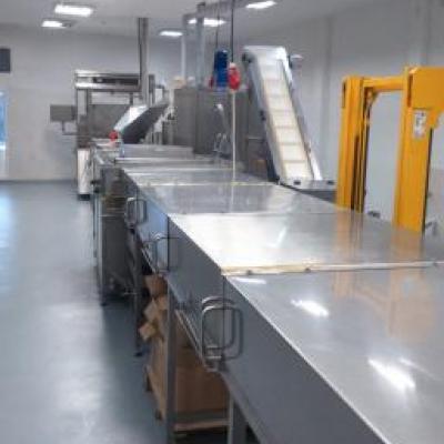Linia do produkcji kropelek czekoladowych