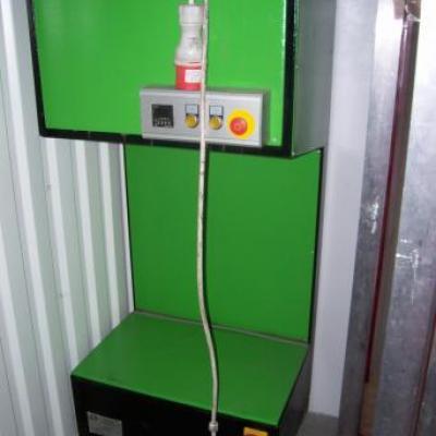 Zestaw maszyn urządzeń do sitodruku