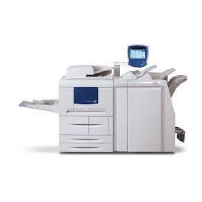 System druku czarnobiałego XEROX 4110 z Finiszerem