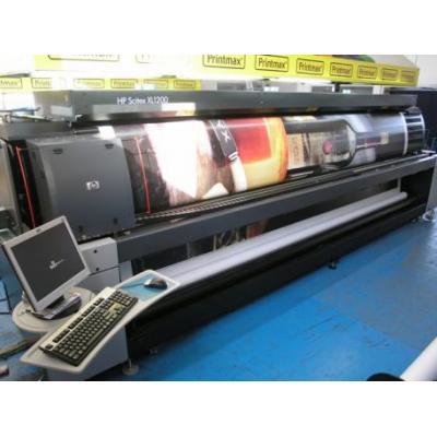 Ploter solventowy HP1200xl, szer.5m