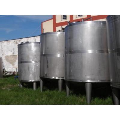 Zbiornik ze stali kwasoodpornej 7 500l