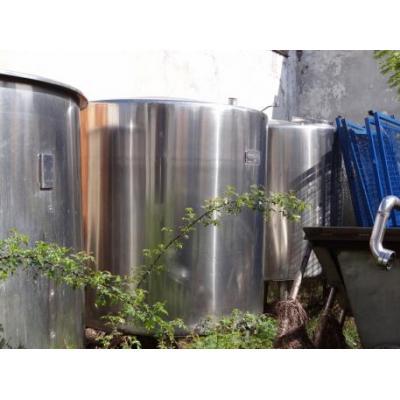 Zbiornik ze stali kwasoodpornej 4 000l
