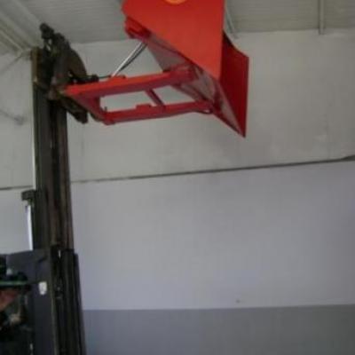 Łyżka hydrauliczne do wózków widłowych