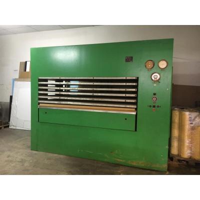Prasa do produkcji sklejki 6 wsadów 2500 x 1300 mm