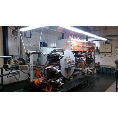 Maszyna fleksograficzna firmy KUKO 5 kolorów